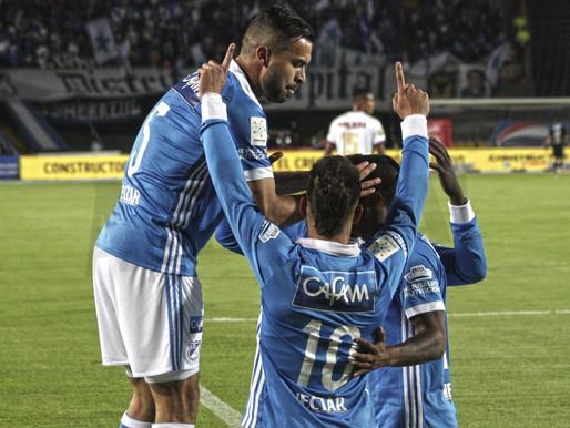 Con buen fútbol, Millonarios goleó al Deportes Tolima