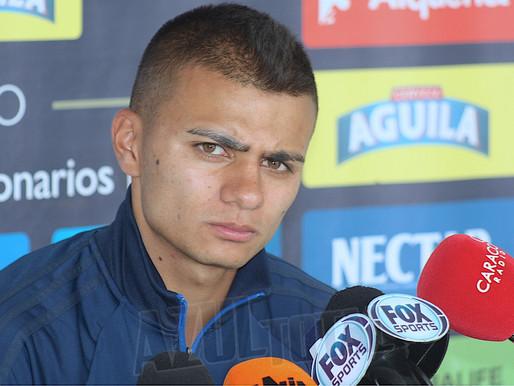 """""""Estoy contento en Millonarios, espero poder renovar con el equipo"""": Jhon Duque"""