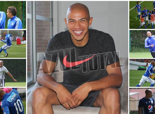 Johnatan Estrada, la sonrisa de Millonarios
