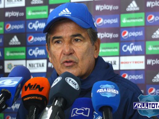 """""""Tenemos que salir a buscar el partido como locales"""": Jorge Luis Pinto"""