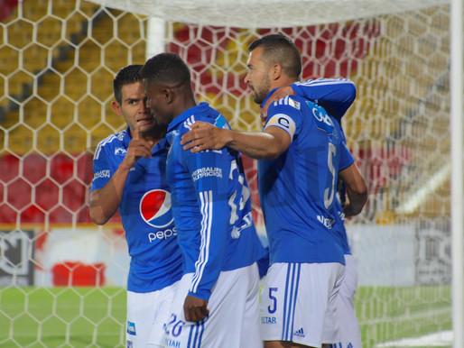 En fotos, la victoria de Millonarios frente a Fortaleza