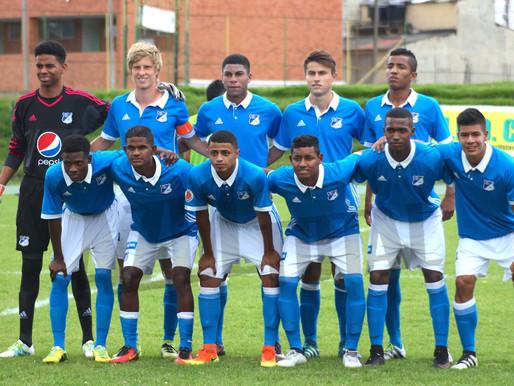 Cinco jugadores del Fútbol Base de Millonarios jugarán en Valledupar FC