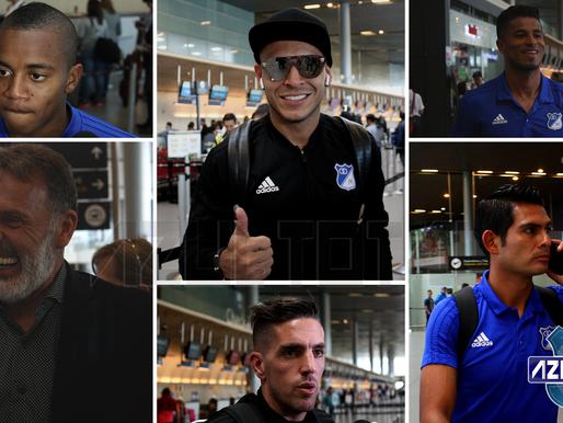 Con tres novedades, Millonarios viajó a Paraguay