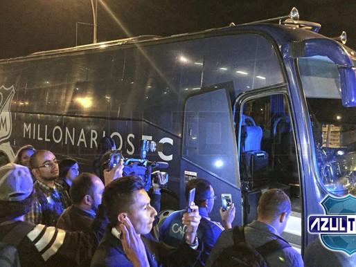 'Carachito Domínguez', principal baja del viaje de Millonarios a Argentina