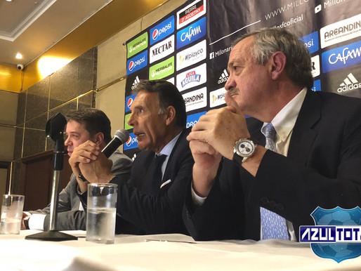 """Miguel Ángel Russo: """"En la etapa más difícil de mi vida, Millonarios estuvo a mi lado y eso no tiene"""