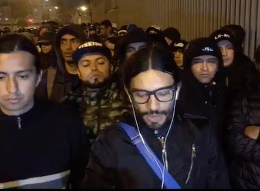 📹 | Comandos Azules niega la búsqueda de sanciones, reitera apoyo a Millonarios e invita a los hinc