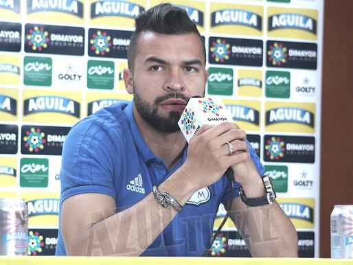 """""""Nos hemos preparado, queremos hacer historia con este club"""": Andrés Felipe Cadavid"""