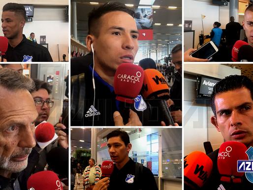 Con 19 jugadores, Millonarios viajó a Estados Unidos para amistoso con River Plate