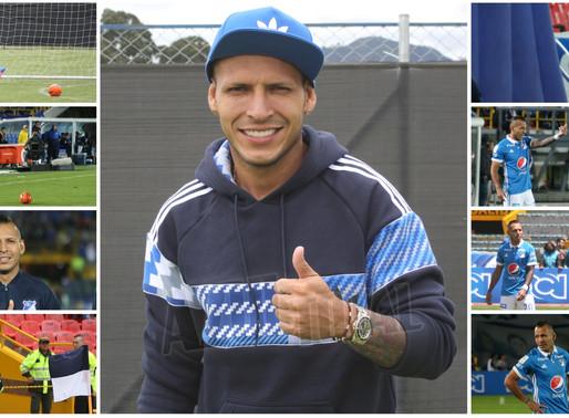 'Carachito' Domínguez, por la revancha con Millonarios en su nueva etapa azul