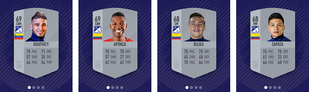 Millonarios - FIFA 18