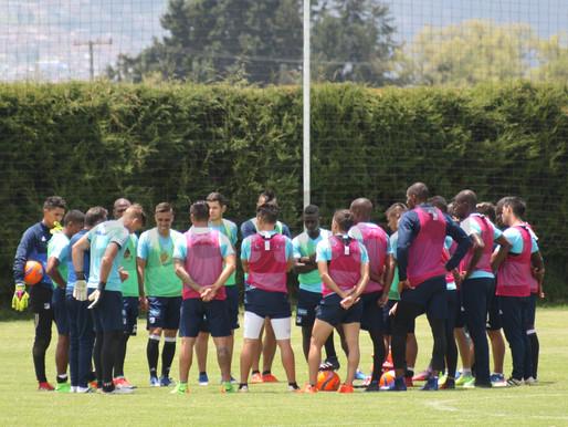 Bajo la dirección de H. Gottardi y G. Cinquetti, Millonarios inició entrenamientos