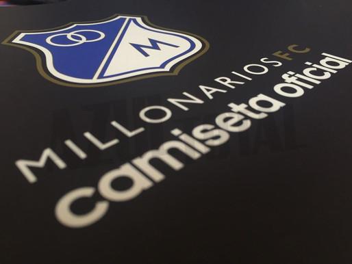 En preventa, Millonarios lanzó su camiseta oficial para el 2018