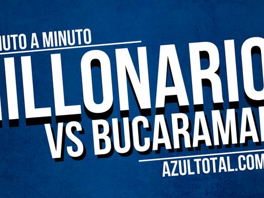 Min a min: MILLONARIOS 4 - 1 Bucaramanga