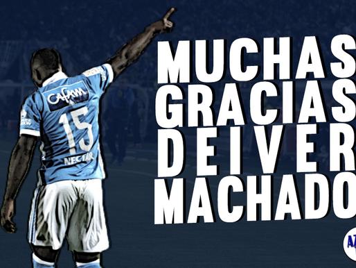 Luego de dos años y medio, Deiver Machado no seguirá Millonarios y jugará en Bélgica