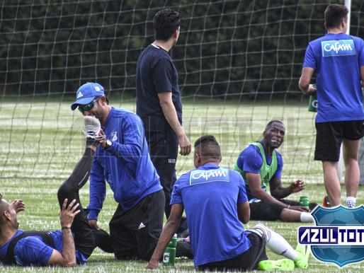 Millonarios se prepara para enfrentar al Deportivo Cali