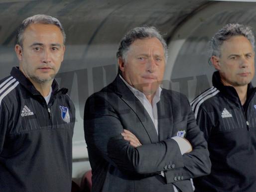 Rubén Israel no es más técnico de Millonarios