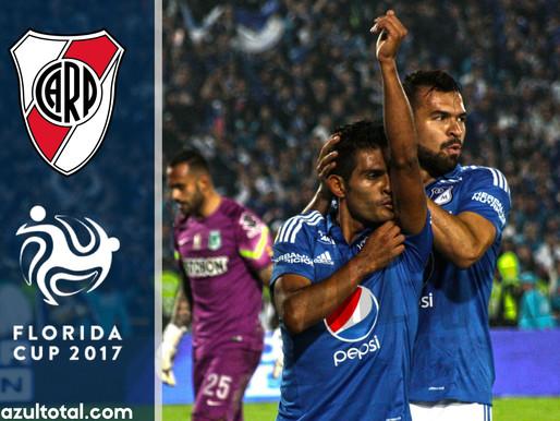 Millonarios se enfrentará a River Plate en la Florida Cup
