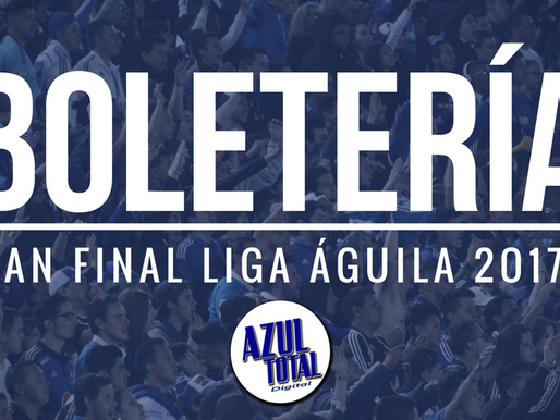BOLETERÍA | El Campín será completamente azul en la final