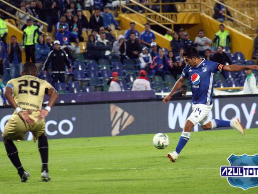 En fotos, el empate de Millonarios frente a Rionegro