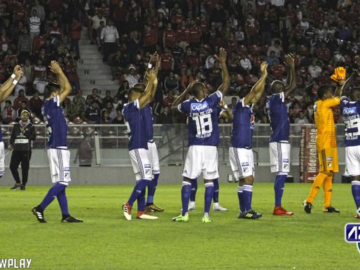 El partido entre Independiente y Millonarios desde el lente de Azul Total