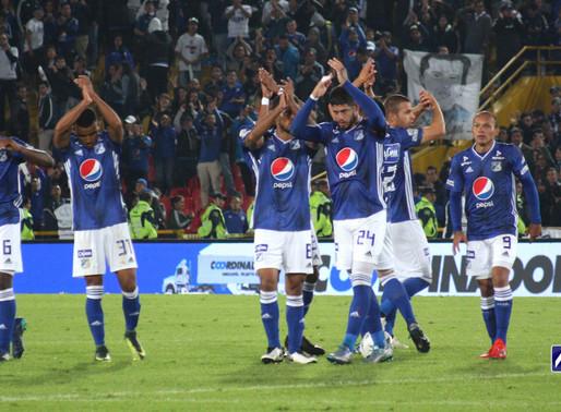 1x1   Millonarios dio cátedra en el Campín y goleó a Unión Magdalena