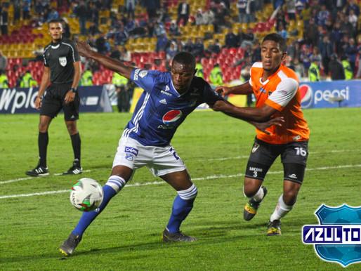 El empate entre Millonarios y Llaneros, desde el lente de Azul Total