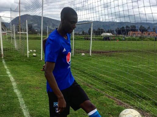 Kevin Saucedo Mosquera convocado a la Selección Colombia Sub-20