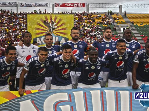 Los datos de la derrota de Millonarios ante Tolima