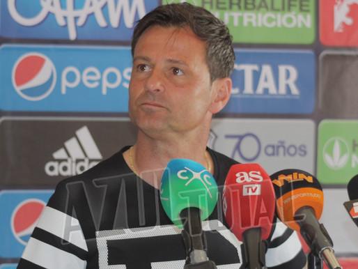 """""""Queremos un equipo competitivo que salga a ganar en todas las canchas"""" Diego Cocca"""