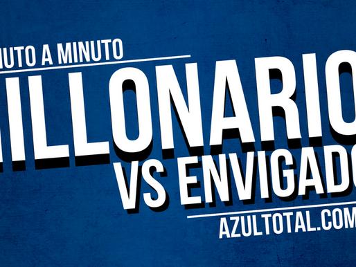 Min a min: MILLONARIOS 1 - 0 Envigado