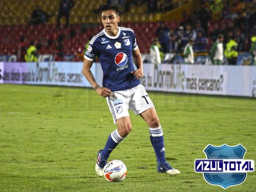 Henry Rojas, principal novedad de Millonarios para enfrentar al Huila