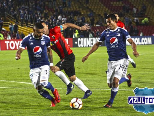 Millonarios perdió ante Deportivo Lara y sigue en deuda con su hinchada