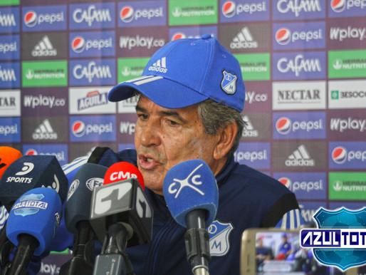"""""""Tenemos que tener calma, falta lo más importante qué son los cuadrangulares"""": Jorge Luis Pinto"""