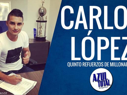 Carlos López, la nueva promesa del Campeón