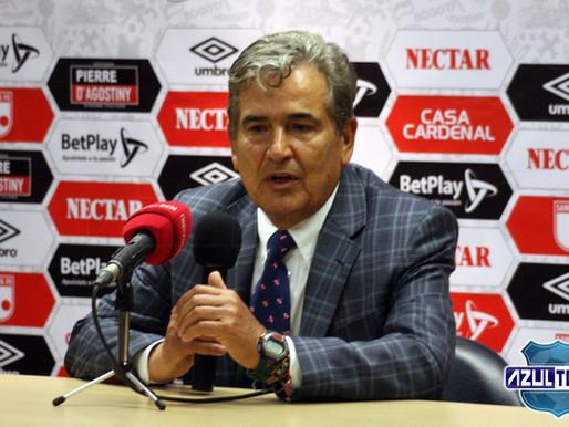 """""""El equipo del domingo va a salir a buscar el partido"""": Jorge Luis Pinto"""
