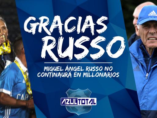 ¡Primera baja para 2019! Miguel Ángel Russo no continuará en Millonarios