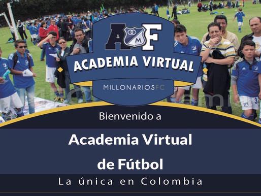 Millonarios estrena academia virtual