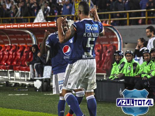 El empate entre Millonarios e Independiente desde el lente de Azul Total