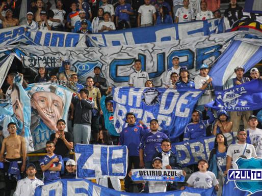 La hinchada de Millonarios acompañó al líder frente a Tolima