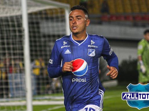 Santiago Montoya, baja en Millonarios por esguince de tobillo