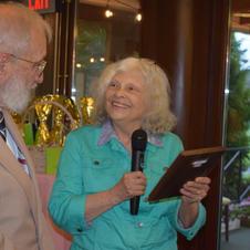 Debbie honors Stan Skinner