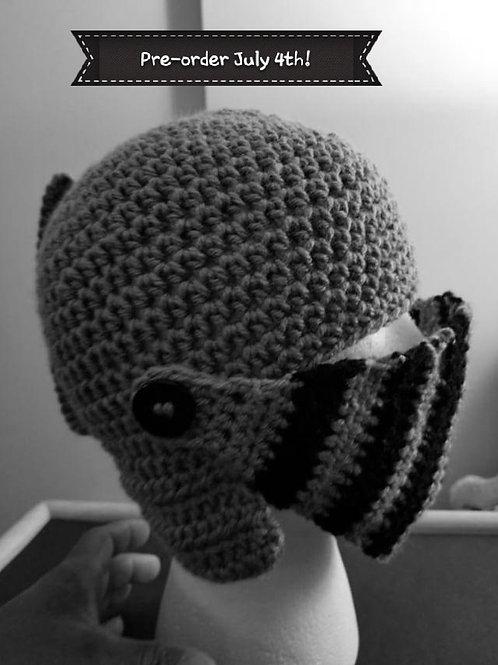 LJ the Knight Knitted Helmet