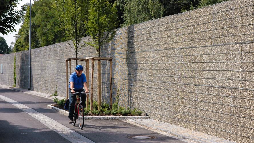 Ljudabsorberande Gång- och Cykelstråk