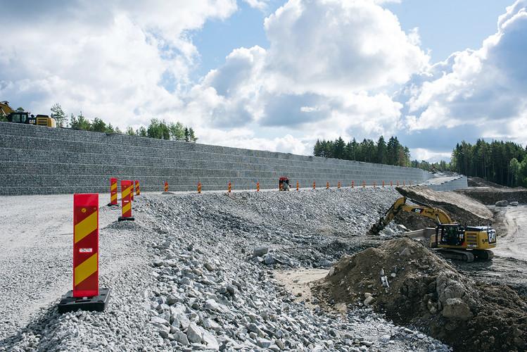 Eon Högbytorp Stödmur 3