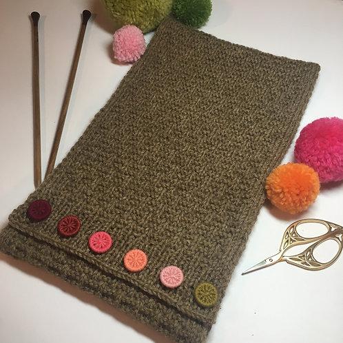 Aisemere Dorset Button Knitted Neckwarmer