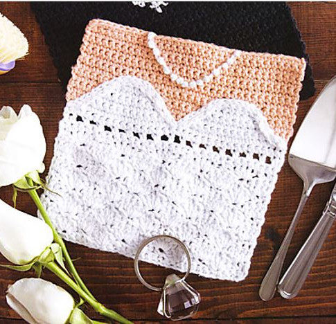 Bride Dishcloth