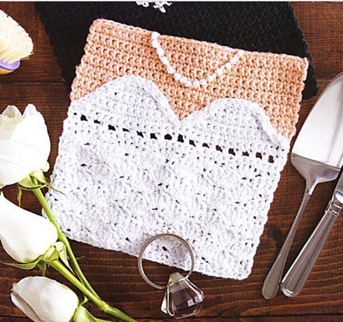 Bride Dishcloth