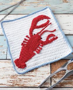 Crocheting Dishcloths 2018 Lobster Dover