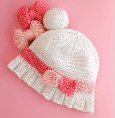 Ruffled Cloche