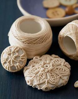 Irish Crochet Buttons Piecework Magazine